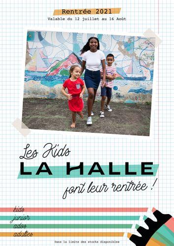 Catalogue LA HALLE