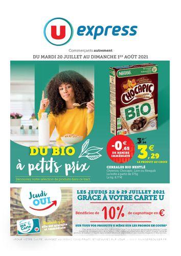 Catalogue U EXPRESS Cilaos
