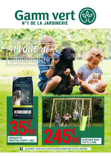 Catalogue GAMM VERT Saint-Pierre