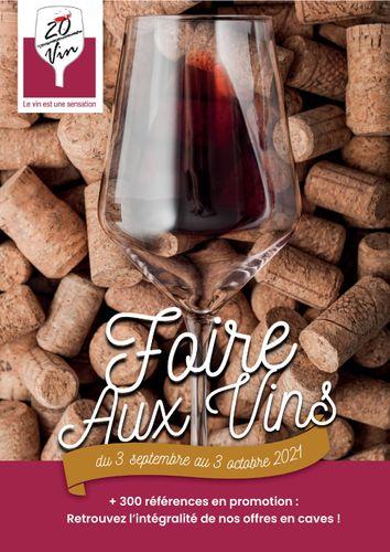 Catalogue 20 sur vin Sainte-Marie