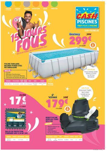 Catalogue CASH PISCINES Saint-Louis